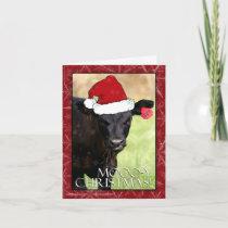 Moooo-y Christmas! Holiday Card