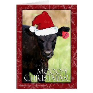 Moooo-y Christmas! Stationery Note Card