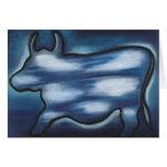 Moooogritte Card