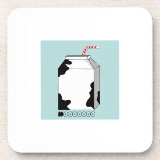 Mooooo Milk Coasters