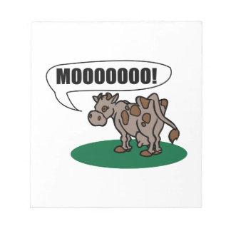 Moooooo! Memo Notepads