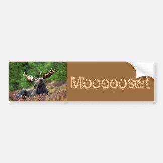 ¡Moooose! Pegatina Para Auto