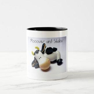 Mooover and Shaker Two-Tone Coffee Mug