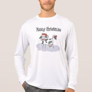 Moooy Christmas T-Shirt Sweatshirt T Shirt
