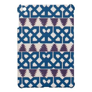 Moor African Arabic Pattern Design Blue Purple iPad Mini Cases