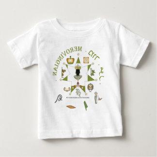 Moor/Merovingian Star King of Europe Baby T-Shirt