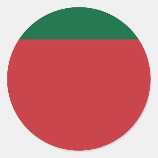Moor   Moroccco, Morocco Classic Round Sticker