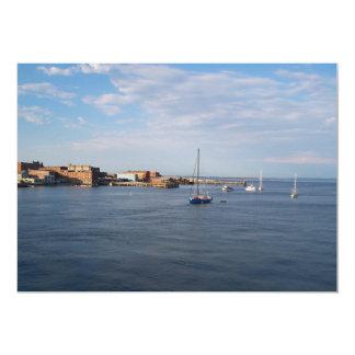 Moorage de Townsend del puerto Invitación 12,7 X 17,8 Cm
