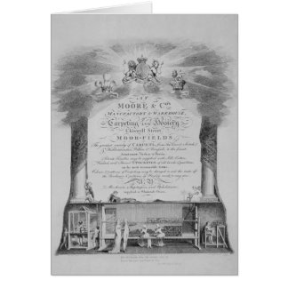 Moore & Co. Trade Card