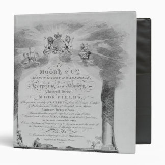 Moore & Co. Trade Card Binder