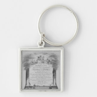Moore & Co. Trade Card Keychain