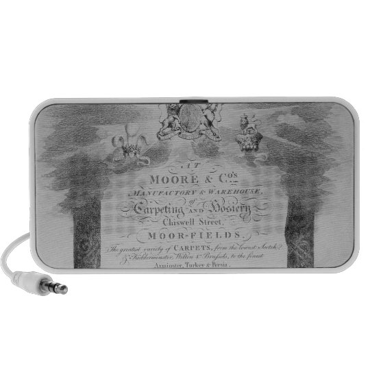 Moore & Co. Trade Card Mini Speaker