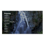 Moore Creek Falls, Kitimat, British Columbia, Cana Double-Sided Standard Business Cards (Pack Of 100)