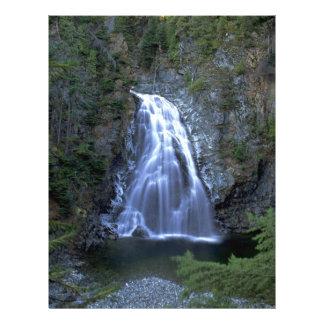 Moore Creek Falls, Kitimat, British Columbia, Cana Flyer
