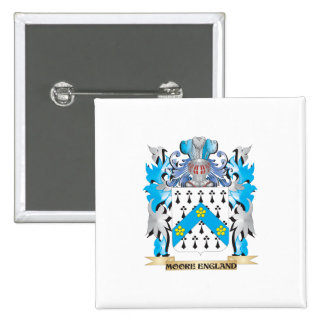 Moore-England Coat of Arms - Family Crest Pin