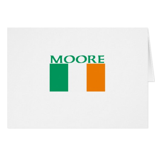 Moore Greeting Card