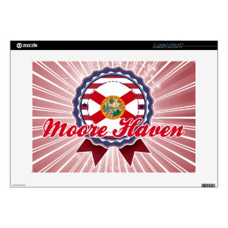 """Moore Haven FL Decal For 15"""" Laptop"""