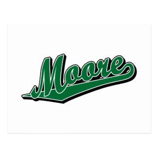 Moore in Green Postcard