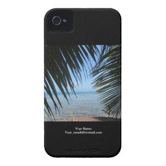 Moorea Palm Tree iPhone Case Case-Mate iPhone 4 Cases