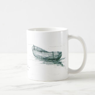 Moored at Penzance Coffee Mug