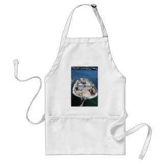 Moored Fishing Boat Adult Apron
