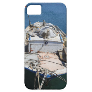 Moored Fishing Boat iPhone 5 Cover