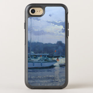 Moored yachts late afternoon OtterBox symmetry iPhone 8/7 case