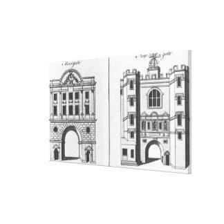 Moorgate and Newgate Canvas Print