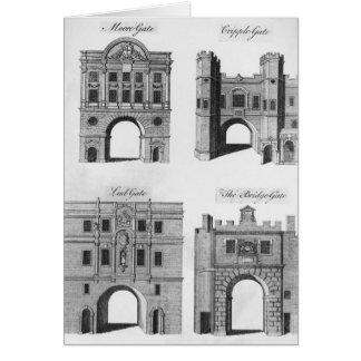 Moorgate, Cripplegate, Ludgate Bridgegate Card