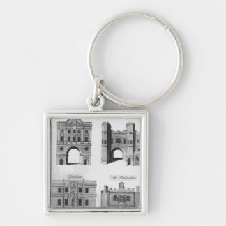 Moorgate, Cripplegate, Ludgate Bridgegate Keychain