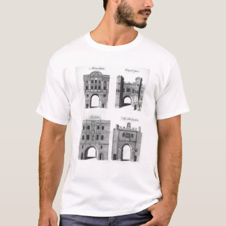Moorgate, Cripplegate, Ludgate Bridgegate T-Shirt