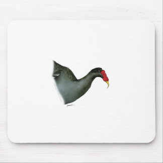 moorhen bird, tony fernandes mouse pad