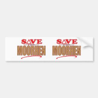 Moorhen Save Bumper Sticker