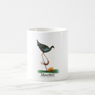 moorhen, tony fernandes coffee mug
