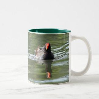 Moorhen Two-Tone Coffee Mug
