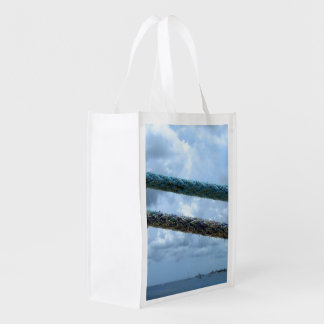 Mooring Lines Two Sided Reusable Grocery Bag