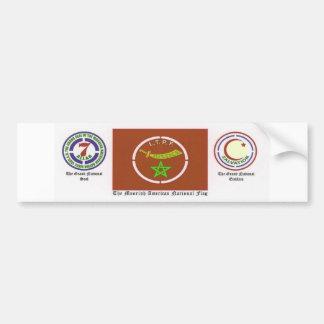 Moorish American National Government Car Bumper Sticker