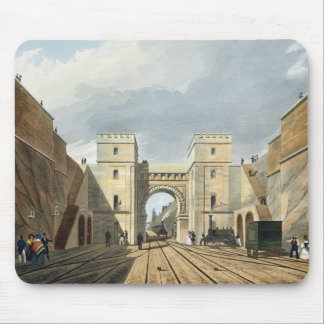 Moorish Arch, Looking from the Tunnel, plate 10 fr Mouse Pad