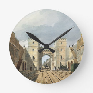 Moorish Arch, Looking from the Tunnel, plate 10 fr Round Clock