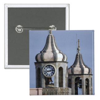 Moorish architectue of La Orotava, Tenerife Pinback Button
