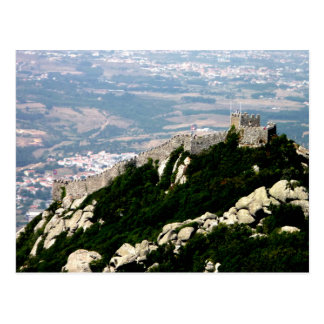 Moorish Castle - Sintra Postcard