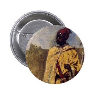 Moorish Guard Pinback Button