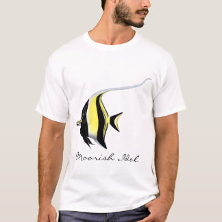 Moorish Idol Aquarium Fish Customizable T-Shirt