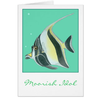 Moorish Idol Card