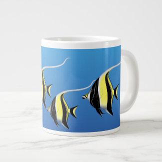 Moorish Idol Coral Reef Fish Jumbo Mug