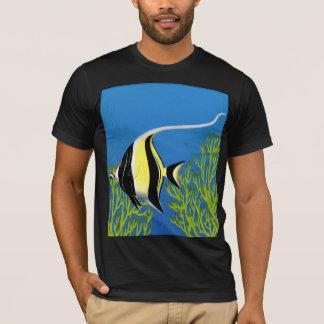 Moorish Idol Coral Reef Fish T-Shirt