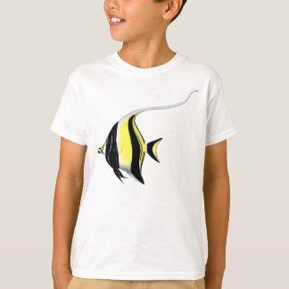 Moorish Idol Fish Kids T-Shirt