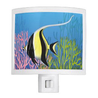 Moorish Idol Pacific Reef Fish Night Light