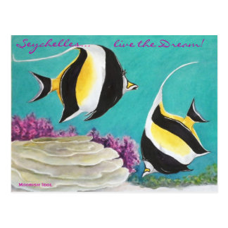 Moorish Idol Postcard