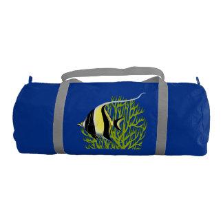 Moorish Idol Reef Fish Gym Duffel Bag
